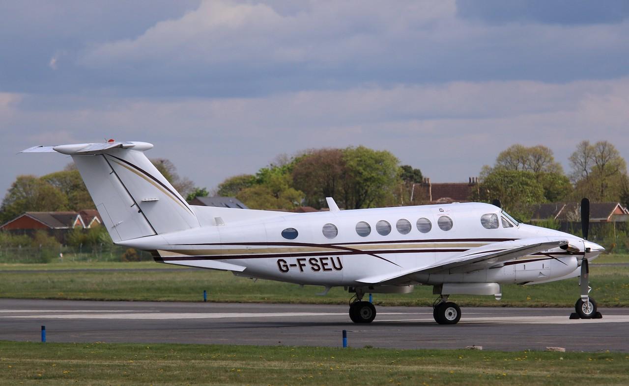 Nimbus Air Ltd, Beech 200 Super King Air, G-FSEU<br /> By Correne Calow.