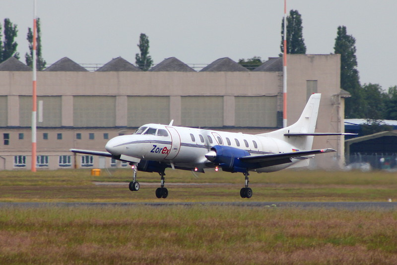 Zorex Swearingen SA-226TC Metro II, EC-JYC.<br /> By Clive Featherstone.