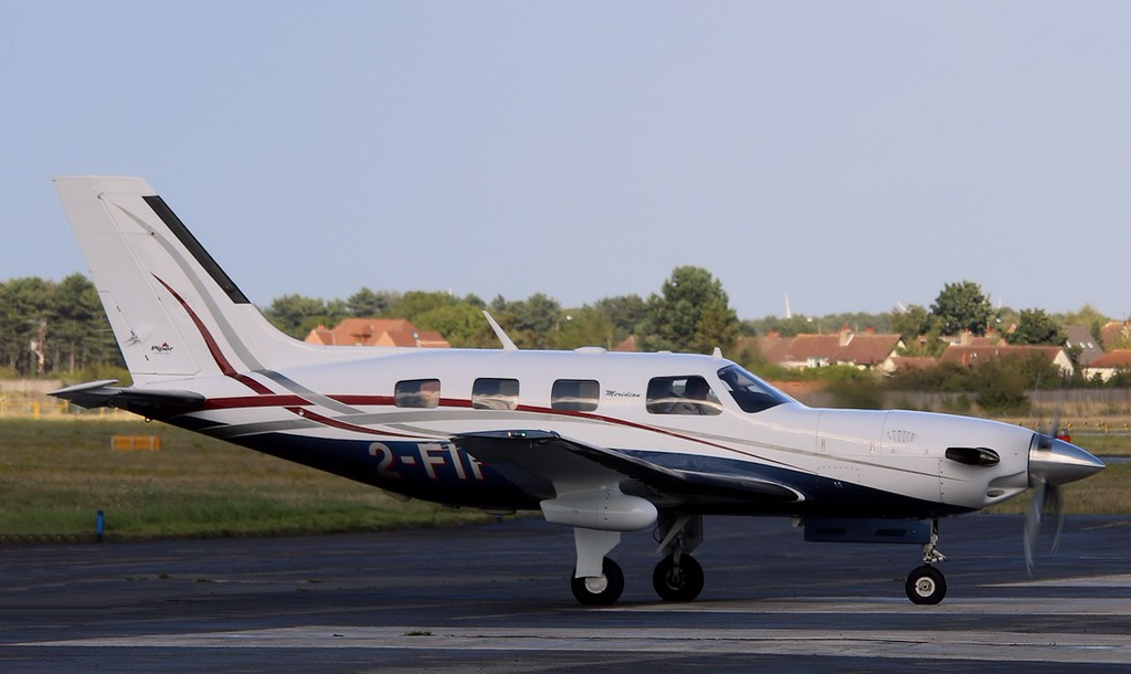 Piper PA46-500TP, Malibu Meridian, 2-FIFI<br /> By Correne Calow.