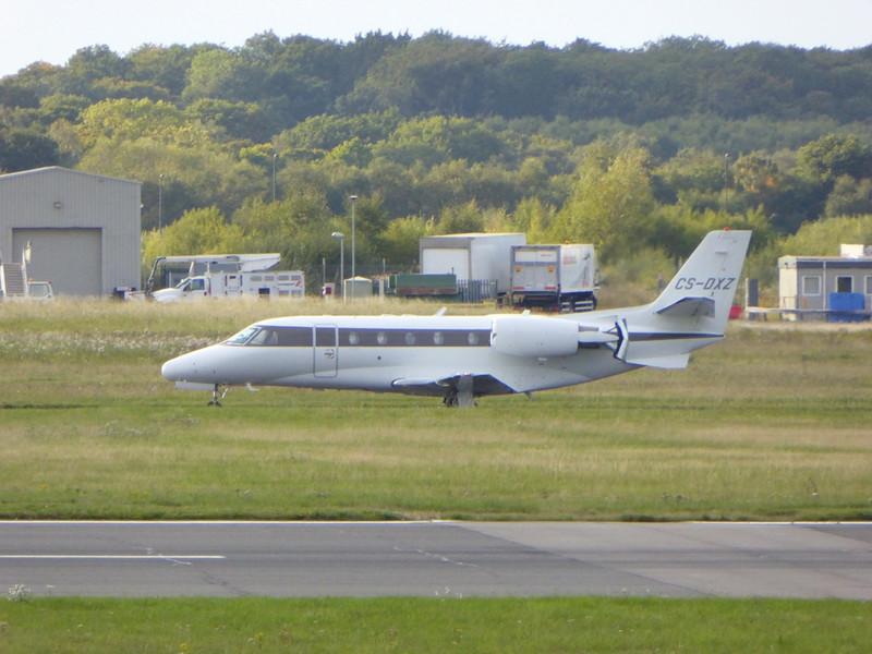 Netjets Cessna 560XL Citation Excel CS-DXZ.<br /> By Kev Barwell.