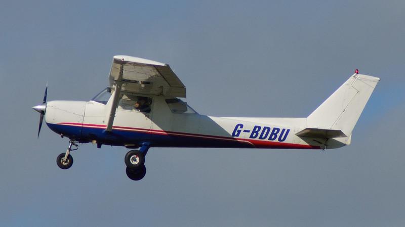 Cessna 150 G-BDBU.<br /> By Kev Barwell.