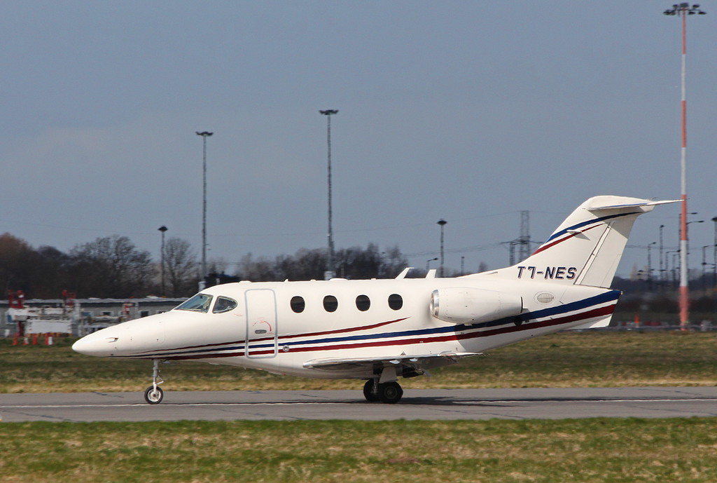 Jommorix, Beech 390 Premier 1A, T7-NES.<br /> By Clive Featherstone.