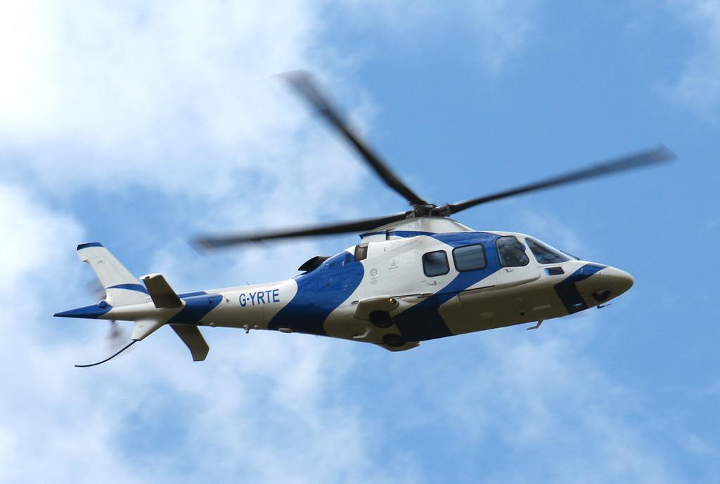 Galegrove 2 LBG, Agusta A-109S, G-YRTE<br /> By Clive Featherstone.