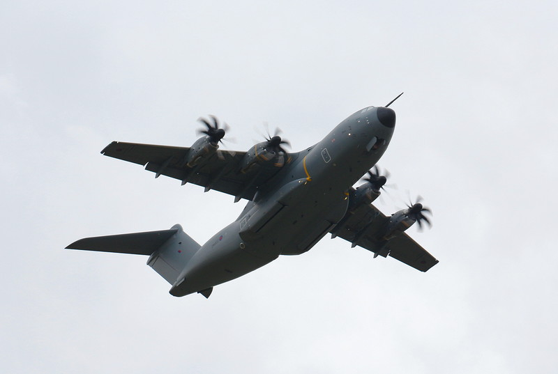 RAF, A400M, ZM402<br /> By Clive Featherstone.