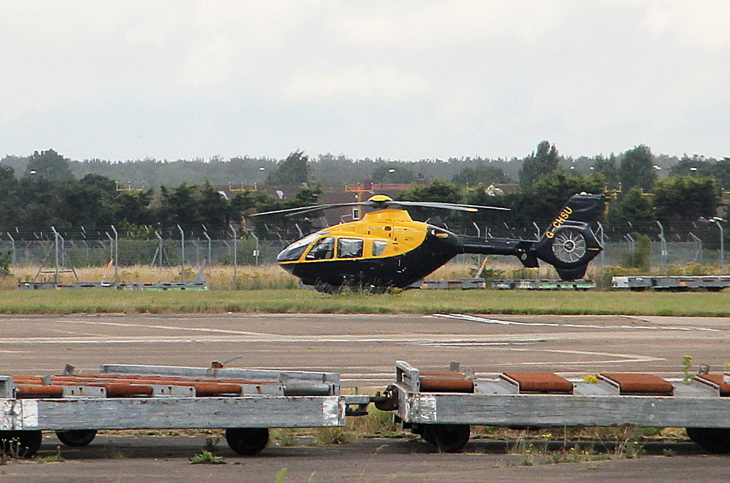 2Excel Aviation, EC-135T1, G-CHSU <br /> By Clive Featherstone.