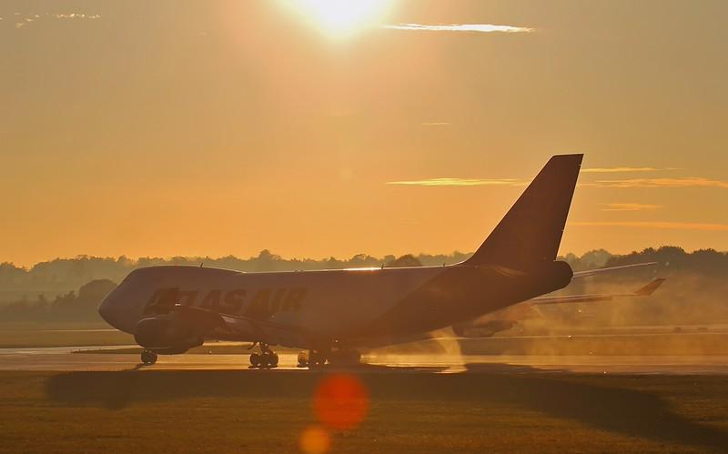 Atlas Air, B747-400F, N412MC<br /> By Steve Roper