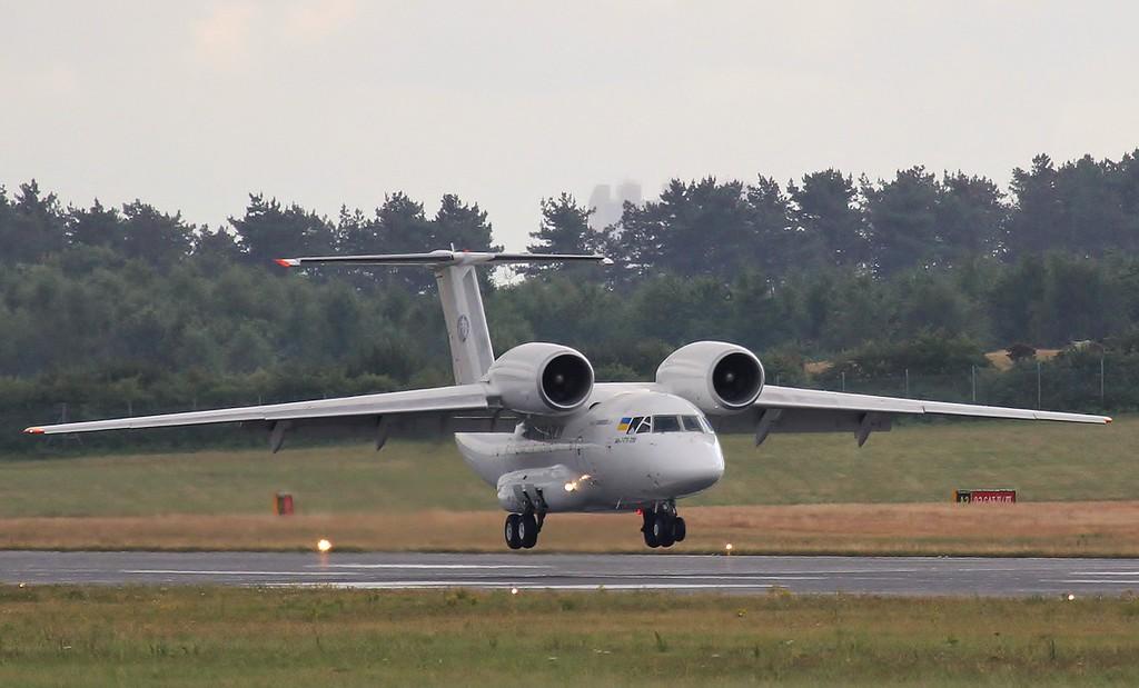 Motor-Sich Antonov An-74 UR-74026.<br /> By Steve Roper.