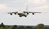 Antonov Design Bureau, An-124, UR-82073 arrives empty from Kiev<br /> By Jim Calow.