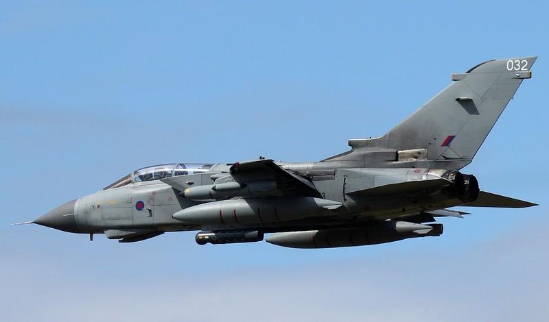 Tornado GR4,  ZA473/032.<br /> By Steve Roper.