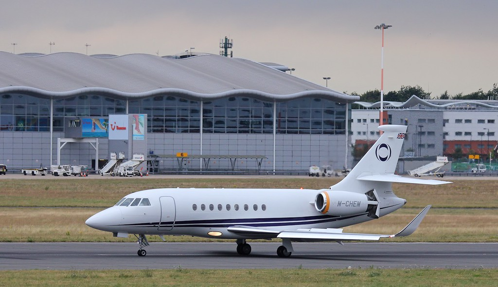 INEOS, Falcon 2000EX, M-CHEM<br /> By Steve Roper.