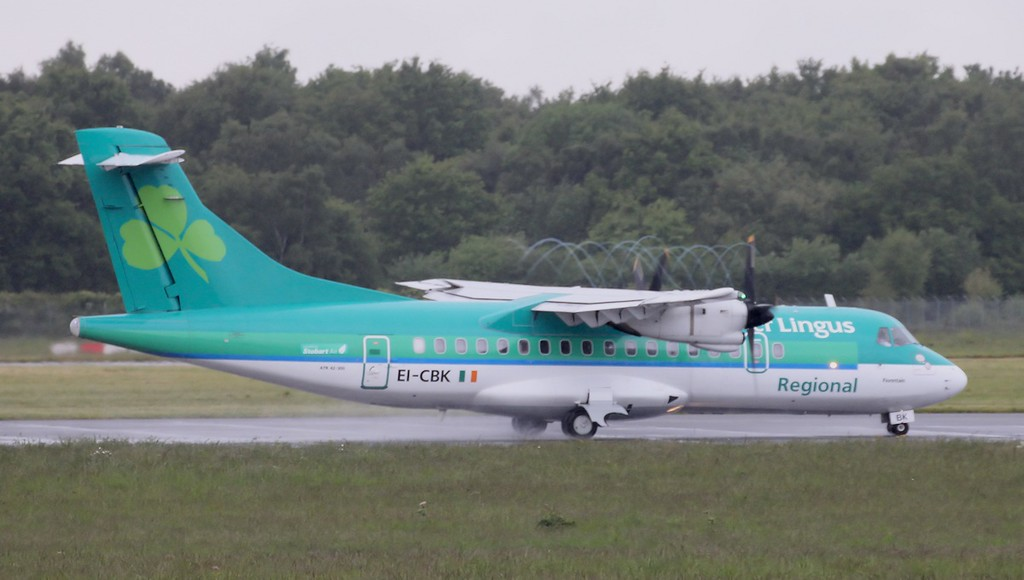Air Lingus (Stobart Air), ATR43, EI-CBK<br /> By Graham Vlacho.