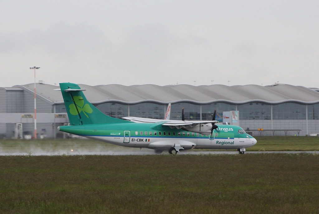 Air Lingus (Stobart Air), ATR43, EI-CBK<br /> By Clive Featherstone.
