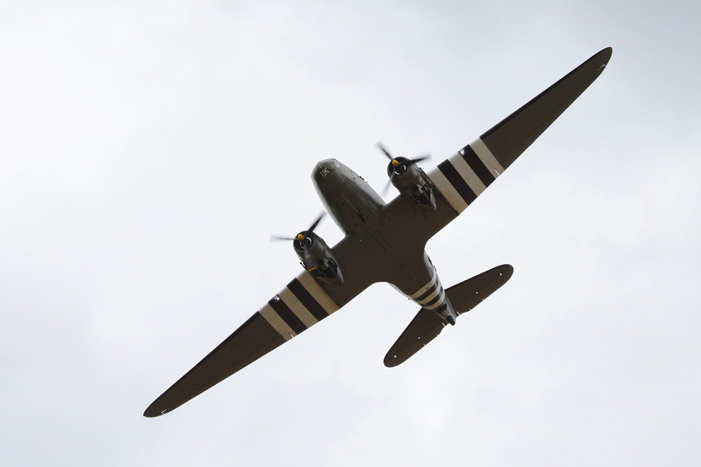 BBMF C-47 Dakota, ZA947<br /> By Clive Featherstone.