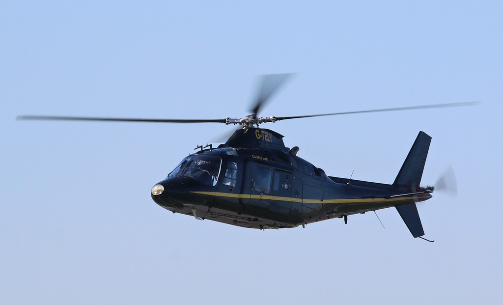 Castle Air, Agusta A109AII, G-TELY<br /> By Correne Calow.