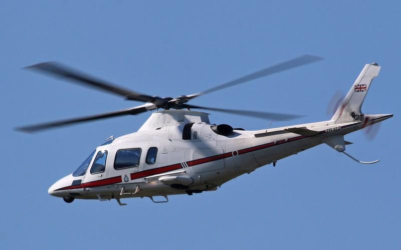 Royal Air Force, AgustaWestland AW-109E Power Elite, ZR322