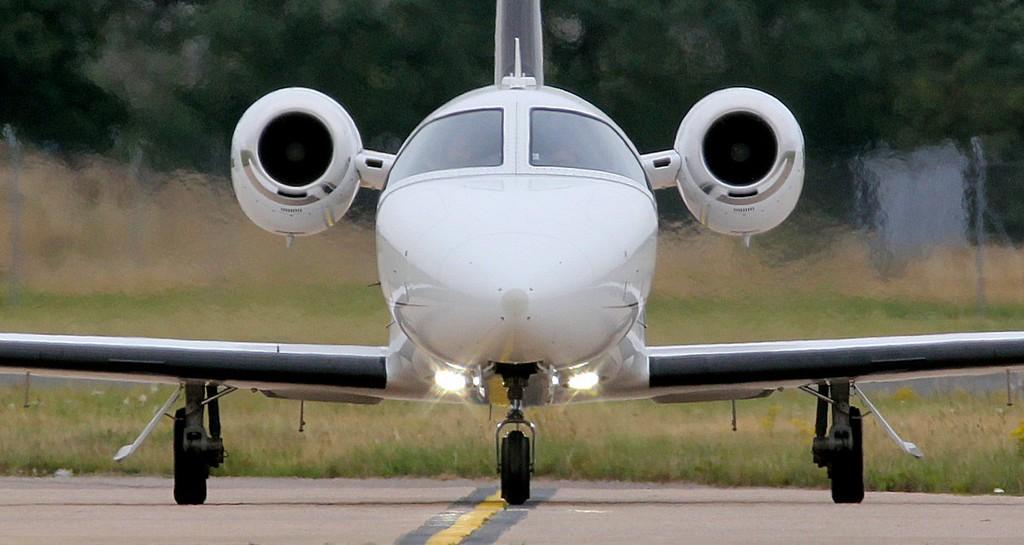 MyJet ,Cessna 510 Citation Mustang, G-FBKE<br /> By Jim Calow.