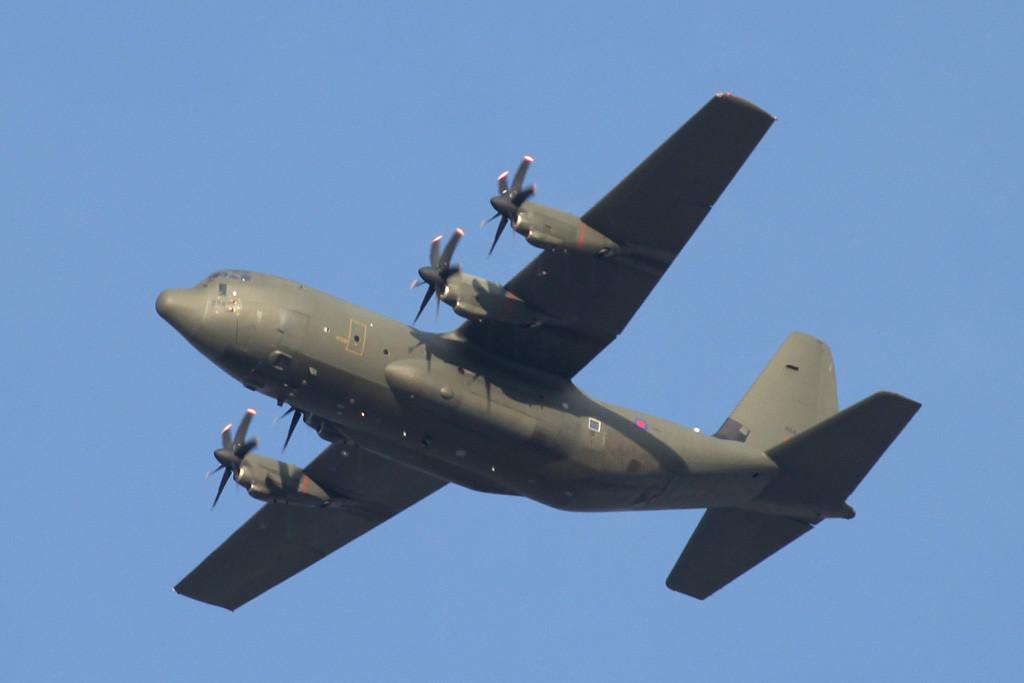 RAF Hercules C5 (C-130J), ZH884<br /> By Graham Vlacho.