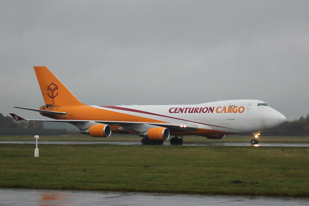 Centurion Cargo 747-400ERF, N904AR <br /> By Clive Featherstone.