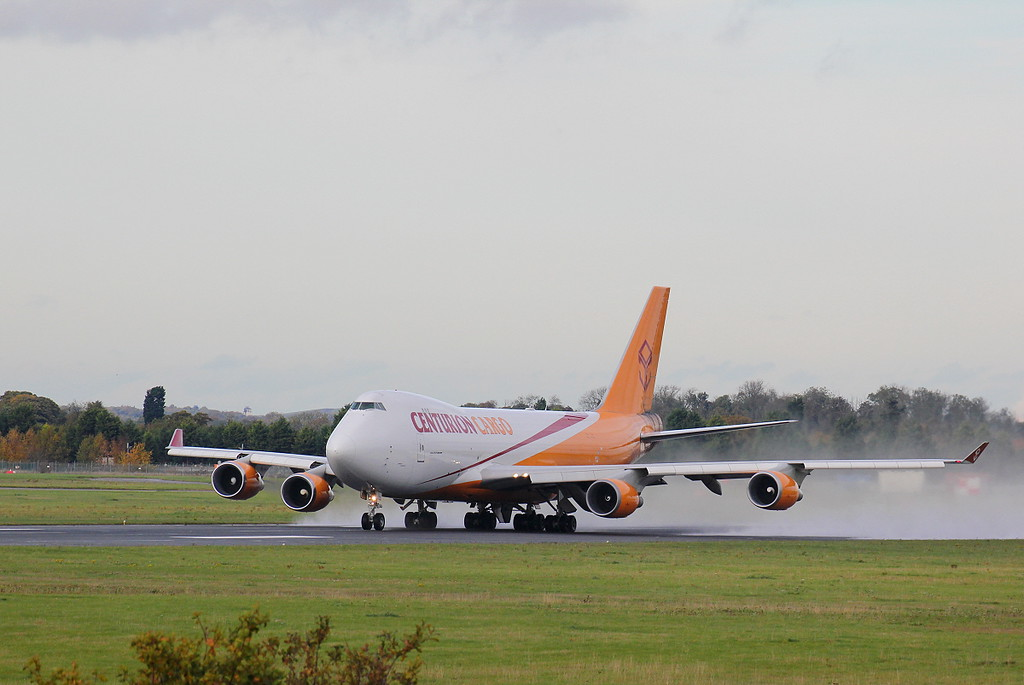 Centurion Cargo 747-400ERF, N904AR departs to Hunstville, Alabama<br /> By Clive Featherstone.