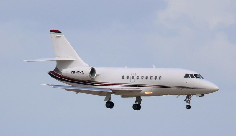 Netjets Europe, Dassault Falcon 2000, CS-DNR<br /> By Correne Calow.
