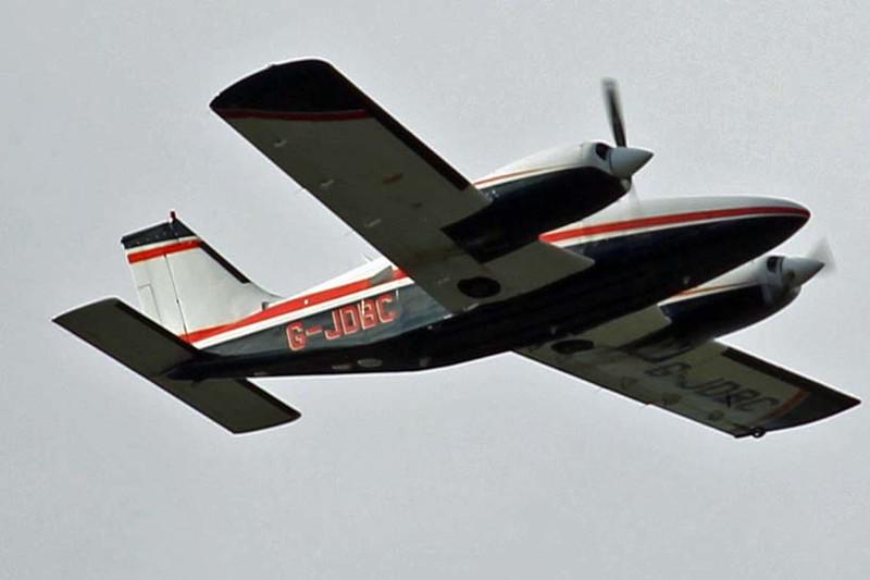 Piper PA-34-200T Seneca II, G-JDBC.<br /> By Graham Vlacho.