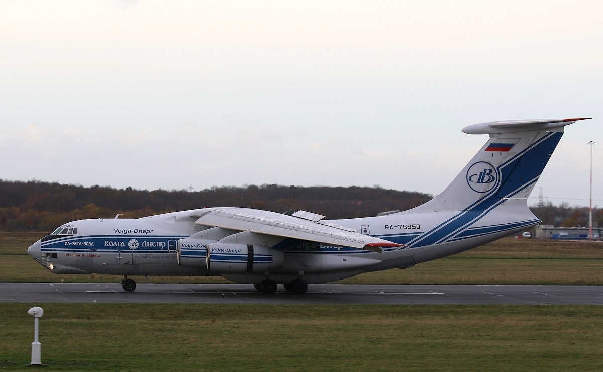Volga Dnepr Airlines, Ilyushin Il-76TD-90VD, RA-76950<br /> By Correne Calow.