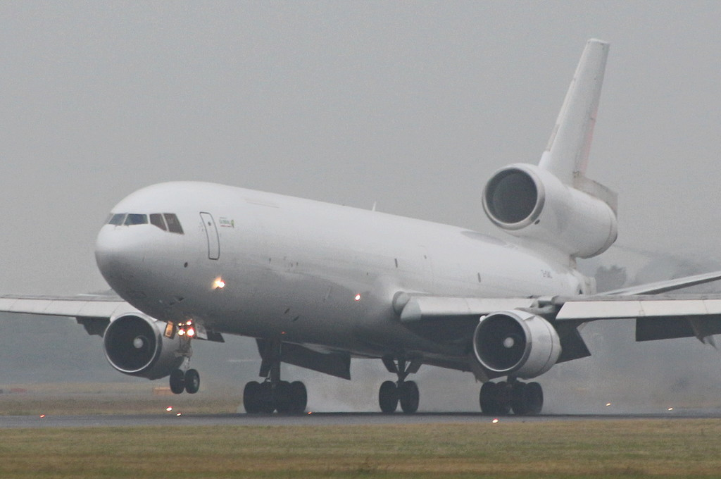 Global Africa Aviation, MD-11F, Z-GAC (ex N279WA)<br /> By Clive Featherstone.