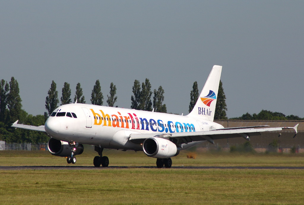 BH Air A320 LZ-BHH.<br /> By Clive Featherstone.