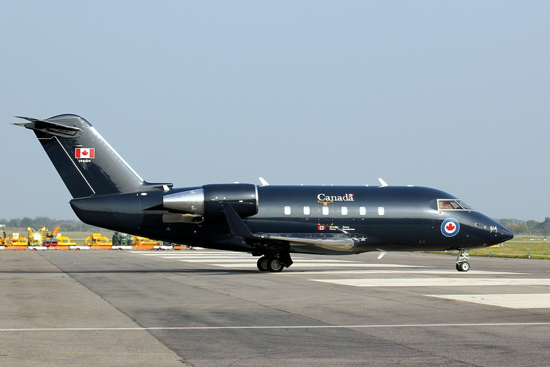 Canadian Armed Forces Canadair CC-144 Challenger 144614<br /> By Clive Featherstone.