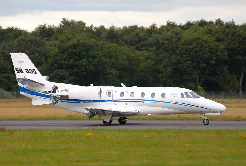 Pan African Airlines,Cessna 560XLS Citation Excel, 5N-BOQ<br /> By Clive Featherstone.