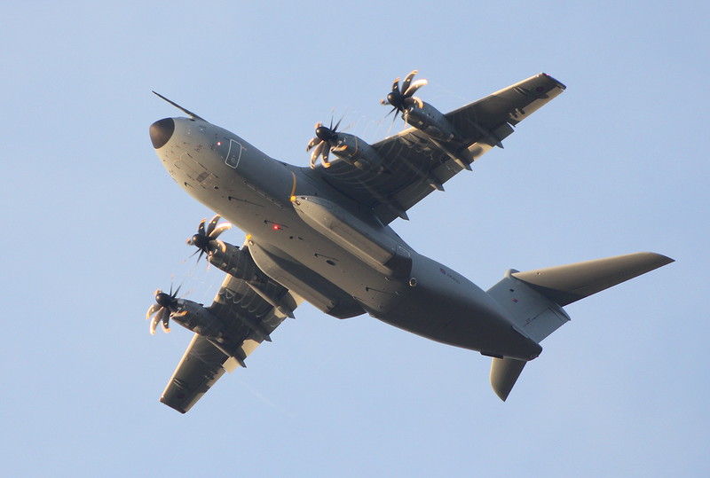 RAF A-400 ZM400.<br /> By Clive Featherstone.