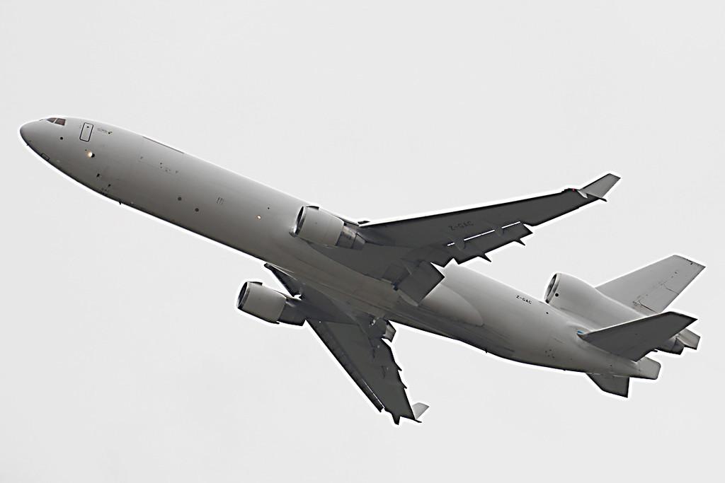 Global Africa Aviation, MD-11F, Z-GAC (ex N279WA)<br /> By Graham Vlacho.