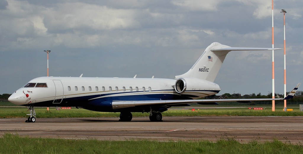 BD-700-1A10 Global 6000 N60XC.<br /> By Jim Calow.