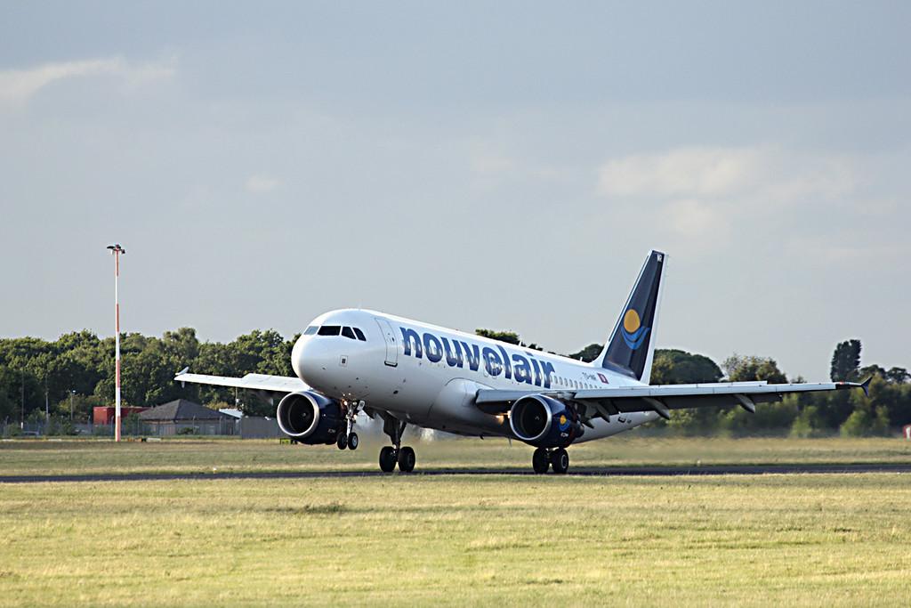 Nouvelair A320 TS-INR.<br /> By Graham Vlacho.