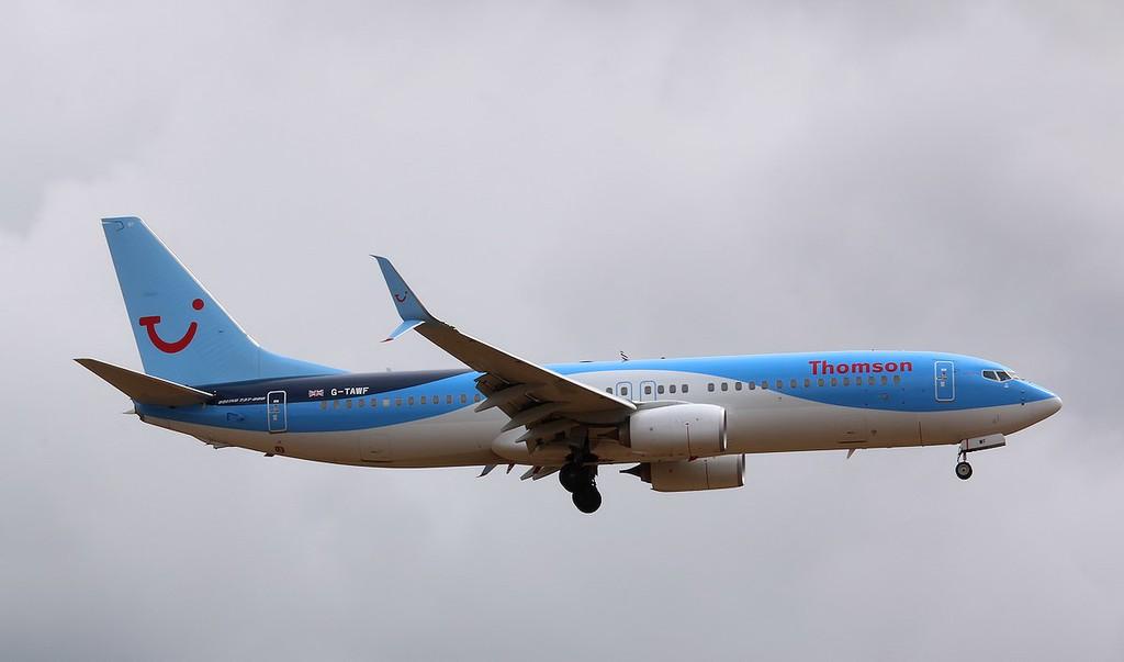Thomson Airways, 737-800, G-TAWF<br /> By Correne Calow.