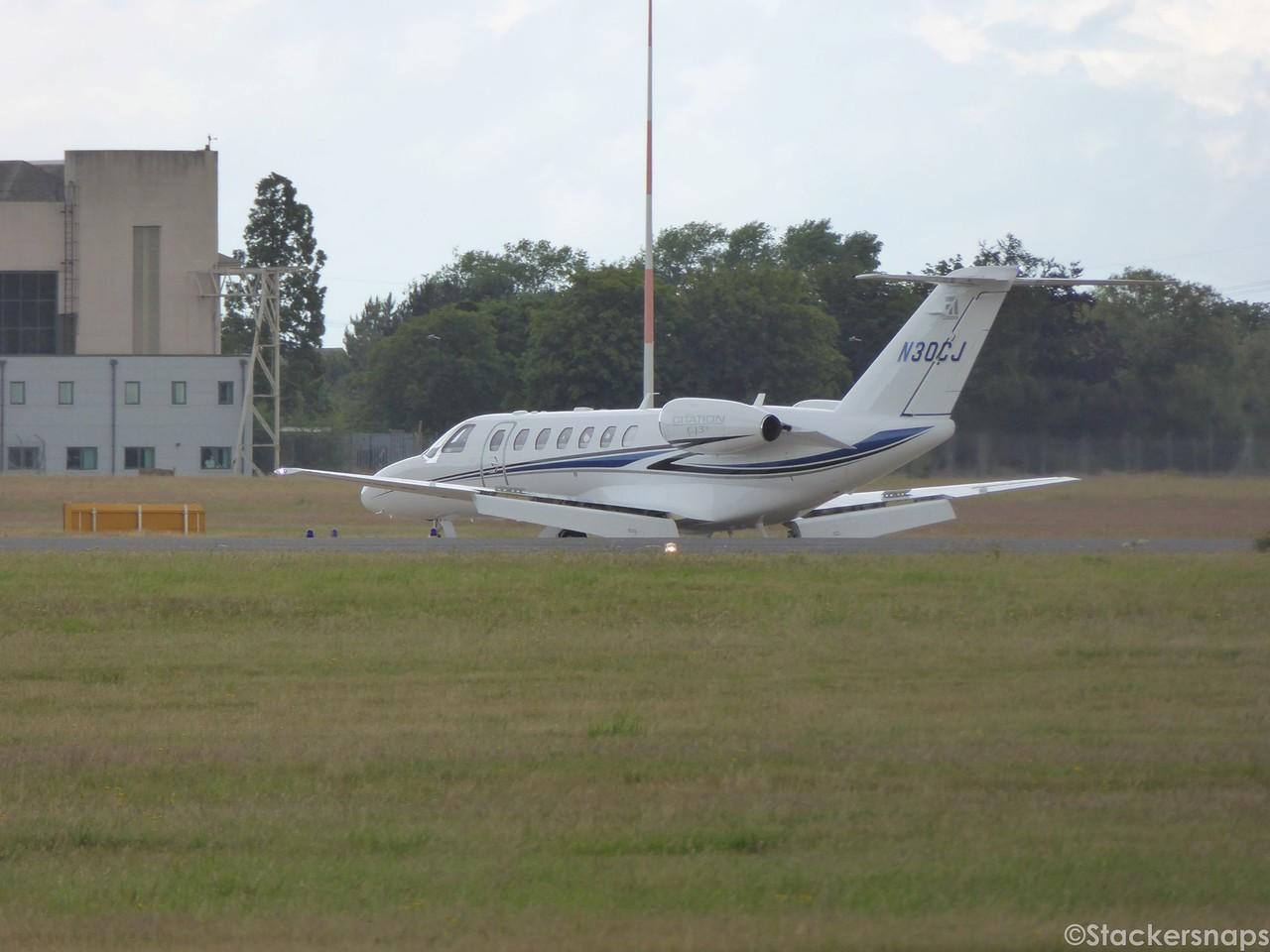 Cessna Aircraft Company, Cessna 525B CitationJet CJ3+, N30CJ.<br /> By Kevin Barwell.