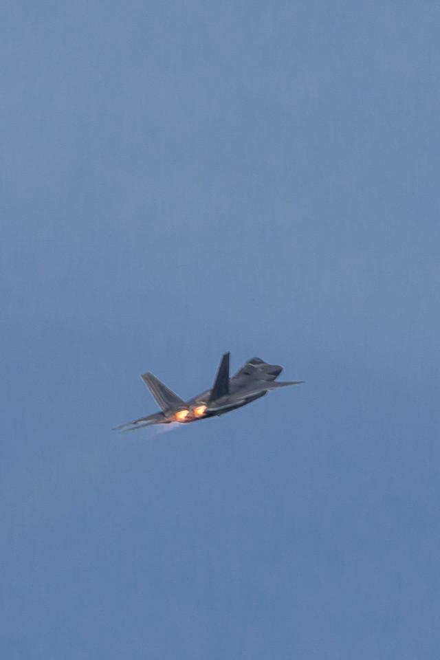 USAF F22 Raptor