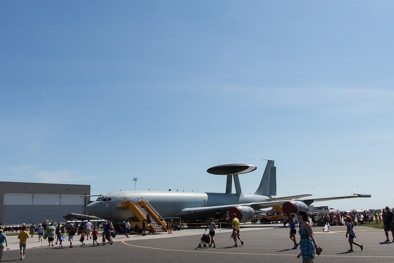 Royal Air Force (RAF) E3 AWACS