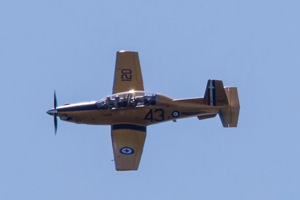 RCAF Harvard II Trainer