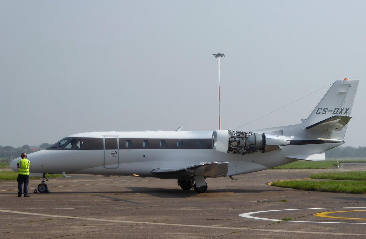 Netjets Europe, Cessna 560XLS Citation XLS, CS-DXX<br /> By Correne Calow.