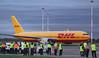 DHL 767-300F G-DHLF.<br /> By Jim Calow.