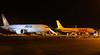 AeroLogic 777-200F D-AALD &  DHL A300B4-622R(F) D-AEAB.<br /> By Jim Calow.