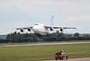 Antonov Airlines An-124, UR-82072<br /> By Graham Miller.