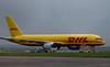 DHL 757-200F G-BIKZ.<br /> By Callum Devine.