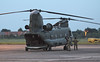 RAF Chinook HC.4 ZA710.<br /> By Jim Calow.