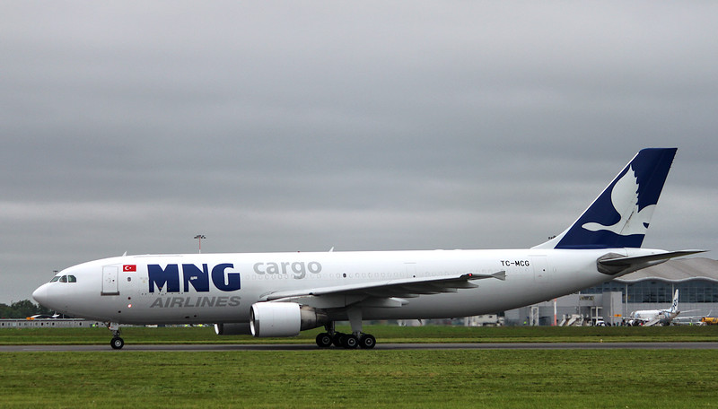 MNG Airlines, A300-B4-622R(F), TC-MCG<br /> By Graham Miller.
