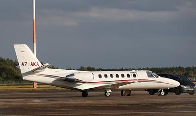 Cessna 560 Citation V, A7-AKA By Correne Calow.