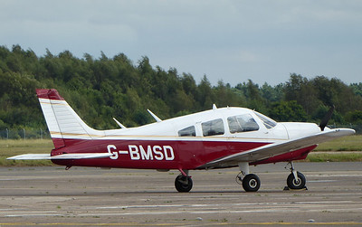 Piper PA-28 Cherokee Archer II, G-BMSD By Correne Calow.