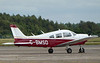 Piper PA-28 Cherokee Archer II, G-BMSD<br /> By Correne Calow.