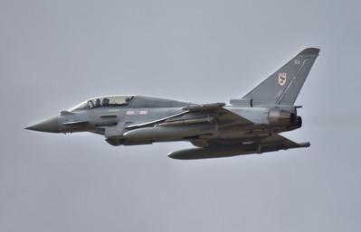 RAF Eurofighter Typhoon T.1 , ZJ803 (BA) By Callum Devine.